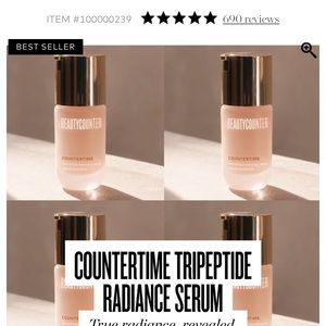 NWT countertime tripeptide radiance serum